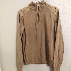 Buckle Black | Slim Fit Mineral Wash Sweater